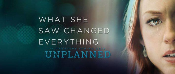 Film Unplanned GEANNULEERD